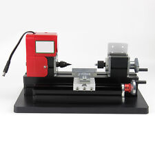 Mini Easy Use Lathe Milling Machine Dc12V 2A 24W Drill Wood Engraving Power Tool