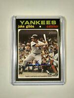 2020 Jake Gibbs Autograph Topps Heritage #ROA-JGI New York Yankees Auto Card