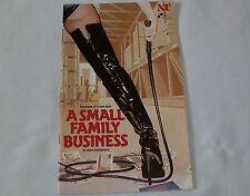 Alan Ayckbourn's play A Small Family Business programme 1987 Olivier theatre