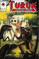 Turok Dinosaur Hunter Comic 1 Yearbook Cover A First Print 1994 Baron Valiant