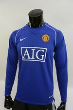 # 2007-2009 nike Manchester United Goal Keepers GK LS Shirt SIZE S (adults)