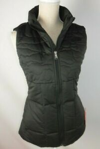 The North Face $130 Women's Size Small RHEA 550 Down Fill Black Vest Jacket