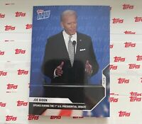 2020 Topps Now United State of America Presidential Debate Joe Biden #2