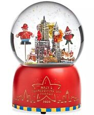 Macy's Thanksgiving Day Parade 2020 Christmas Santa Snow Globe NIB RARE
