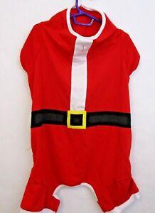 Martha Stewart Pets Christmas Santa Pet Shirt Fits Size X-Large Dog Puppy Cat