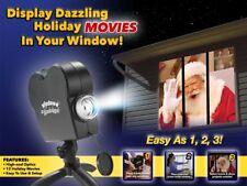 Window Wonderland Window Projector System, 6 Christmas, 6 Halloween Movies.