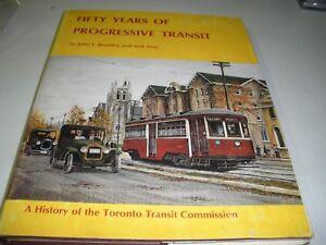 50 Years Of Progressive Transit C.1973 this ed 1978 HC/DJ  Maps & Charts 176pgs