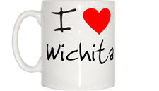 I Love Heart Wichita Mug