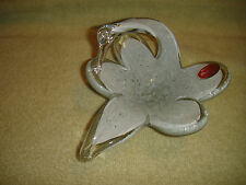 Murano Swan Candy Dish-White Swan Glass Dish-Made In Italy-Lovely Swan-LOOK