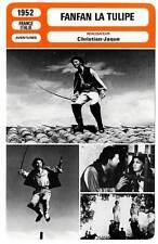 FICHE CINEMA : FANFAN LA TULIPE - Phillipe,Lollobridgida,Christian-Jaque 1952