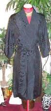 NEW ALEXANDER McQUEEN $2,500 BLACK WRAP DRESS SZ 6 (40)