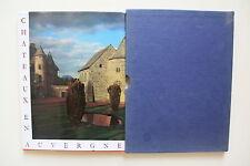 CHATEAUX EN AUVERGNE Henri Pourrat + PARIS POSTER GUIDE