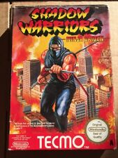 NINTENDO NES SHADOW WARRIORS NINJA GAIDEN BOXED INST PAL A FREE UK POSTAGE
