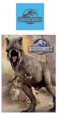 Jurassic World Park Wende-Bettwäsche 135x200 Tyrannosaurus T Rex Baumwolle NEU