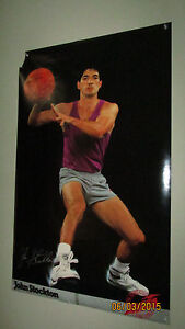 Autographed To Tyler John Stockton Avia For Athletic Use Only Poster Vintage 80s