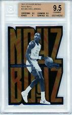 2011-2012 Fleer Retro MICHAEL JORDAN NOYZ BOYZ #23 BGS 9.5 GEM MINT. POP 8.No 10