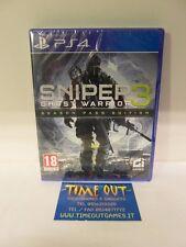 Sniper Ghost Warrior 3 Season Pass Ed. Ps4 Playstation 4 City Interactive