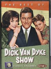 THE BEST OF THE DICK VAN DYKE SHOW VOLUME 2~ 3 CLASSIC EPISODES~NEW SEALED DVD