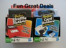 Hasbro Shuffle Shaker and 6pc Card Holders pack 2 Decks Playing Cards Ages 8+