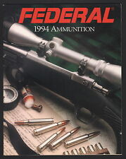 Federal Ammunition Catalog - 1994