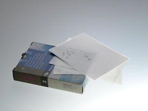 100 x RENZ A6 Laminating Pouches Gloss Laminator Sheets 160 Micron