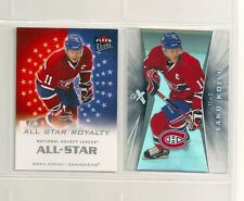 2008-09 Ultra Saku Koivu All-Star Royalty & E-X Essential Credentials (2 cards)