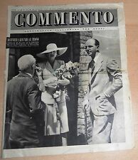 SETTIMANALE ILLUSTRATO PER TUTTI   COMMENTO  N°  24 1947  ORIGINALE !!!