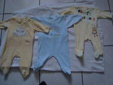 lot de 3 pyjamas bébé FILLE - taille 6 mois SUPER ETAT