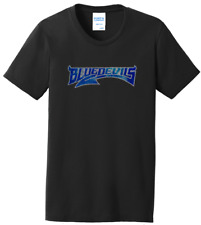 Women's Duke Blue Devils Ladies Bling T-Shirt Tee Shirt Crew Neck Size S-4XL