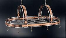 """Ruffoni Copper & Chrome Pot Rack 36""""x17"""""""