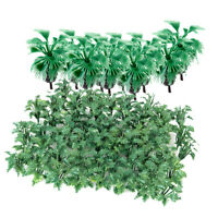 Mini Model Bottle Palm Trees Model Ground Cover Grass With Crushed Leaves