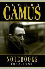 Albert Camus Notebooks 1935-1951 by Albert Camus