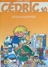 CEDRIC N° 10 Gateau surprise Cauvin Laudec BD 2004