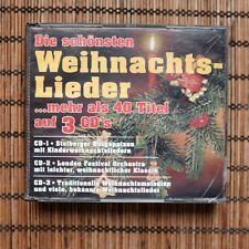 VARIOUS - DIE SCHONSTEN WEIHNACHTSLIEDER - 3CD