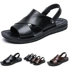 Summer Mens Beach Slingbacks Sandals Shoes Outdoor Walking Sports Cut out Flat D