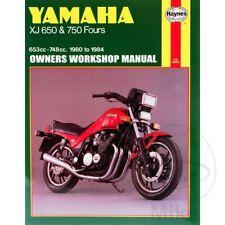 YAMAHA XJ650 & 750 FOURS 1980-1984 Haynes Repair Manual 0738