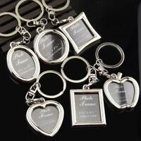 Insert Blank Metal Photo Keyrings Personalise GIFT