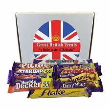 Cadbury Selection Box of 10 Full Size British Chocolate Bars
