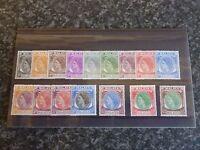 MALAYA POSTAGE STAMPS MALACCA SG23-38 1954-57 UN-MOUNTED MINT