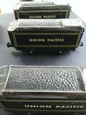 Lot of 33 Vintage Marx Metal Train Coal Car Union Pacific 551 New York Central
