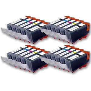 20 Druckerpatronen für CANON TS5055 TS5053 TS5052 TS5051 TS5050 TS5000 mit Chip