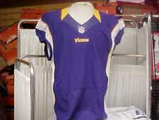 2012 NFL Minnesota Vikings Purple Blank Nike Team Issued Jersey L-BK Cut Sz-44+4