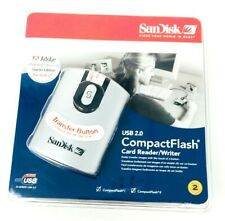 SanDisk Image Mate USB 2.0 CompactFlash Card Reader Writer High Speed Adobe New