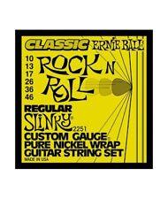 Ernie Ball 2251 Jeu de cordes électriques Regular Slinky Classic 10-46