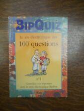 Bip Quiz, le jeu électronique des 100 questions N°1