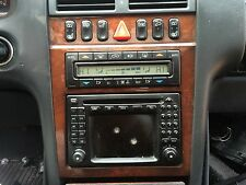 Mercedes-Benz W210 E320 E430 E280 E260 E240 command navigation wood trim bezel