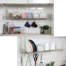 "23"" Stainless Dish Drying Sink Cabinet Fixing Rack Ladle Cup Shelf Sink Kitchen"