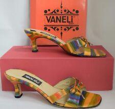 Van Eli Multi Color Slip On Sandals Size 7M