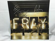 THE FRAY SIGNED 12X12 PHOTO ALBUM COVER ISAAC SLADE KING BEN WELSH COA WOW