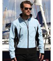 Result Mens Windproof/Waterproof Warm Fleece Softshell Work Jacket RRP £45 R120X